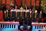 U prepunoj creskoj župnoj crkvi proslavile smo Božić s našim prijateljima - klapama Rab, Sozal, Burin i Bezimenima